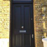 Victorian Front Door with Banham Locks