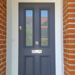 Victorian Front Door with Timber & Glass Panels
