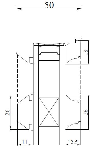 26mm Lamb Mould - Glazing Bar