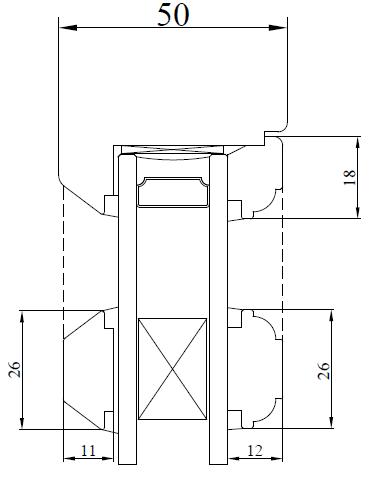 26mm Ovolo Mould - Glazing Bar