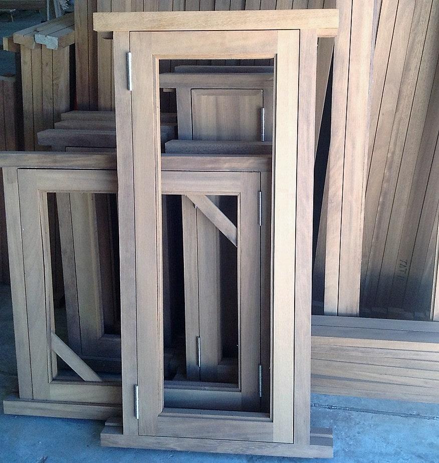 Hardwood Meranti Casement Window