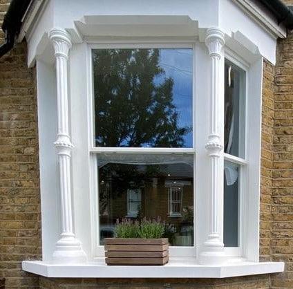 Victorian Bay Sash Window