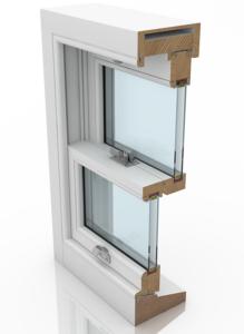 Hidden Spiral Balance Timber Sash Window