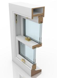 Cords and Pulleys Sash Window - Deluxe Range
