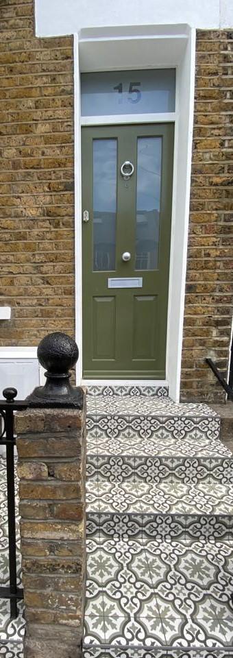 Timber Victorian London Front Door
