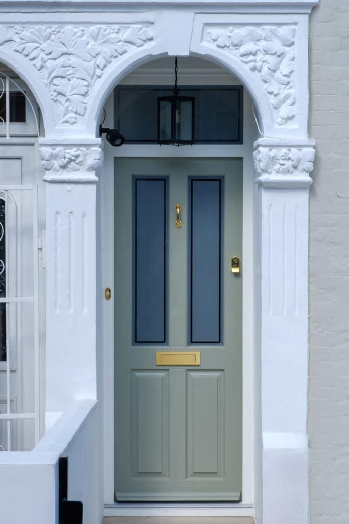 Typical Victorian Front Door