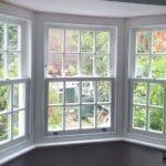 Cottage Bay Sash Windows with Double Glazing