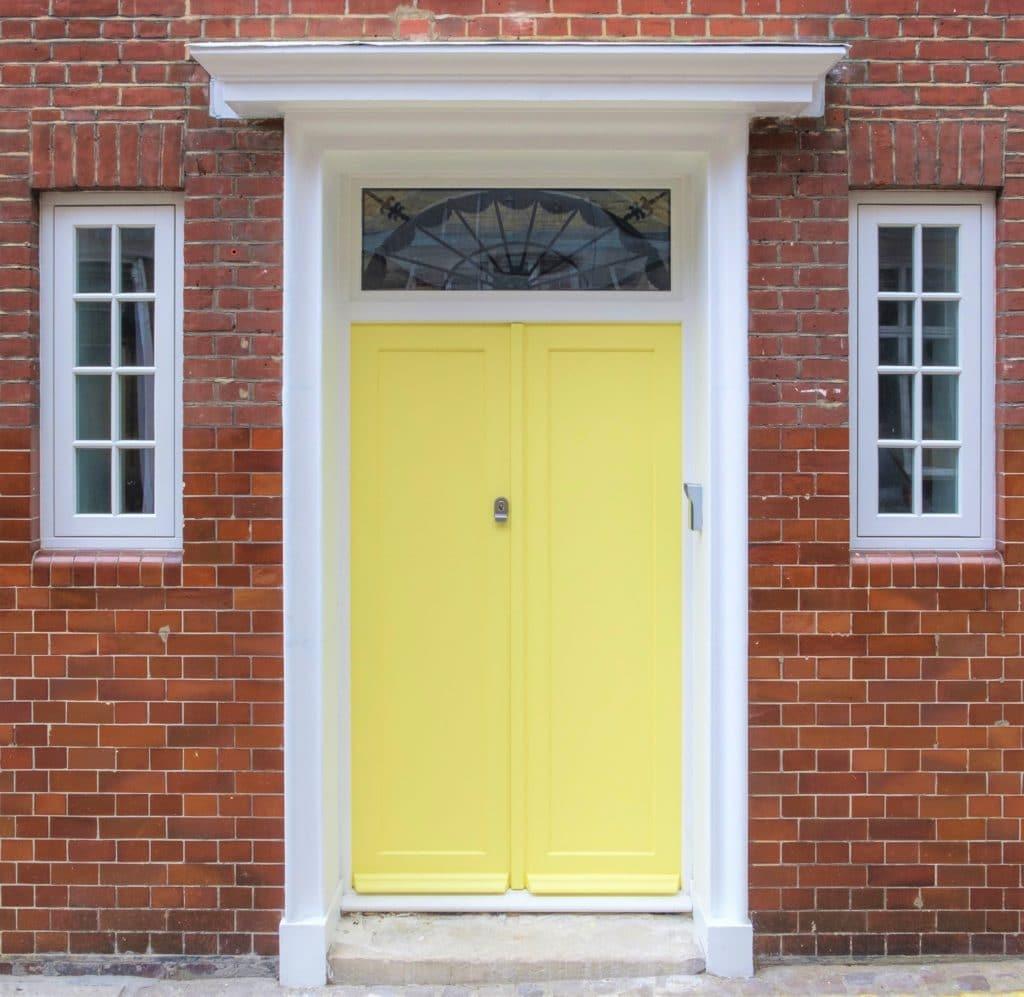 Double Wooden Front Door