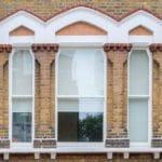 Victorian Gothic Arch Sash Window