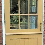 Timber Stable Door with Glazing Bars