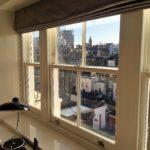 Triple Combination Wooden Sash Window