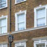 Wooden Sash Windows in Mayfair, London